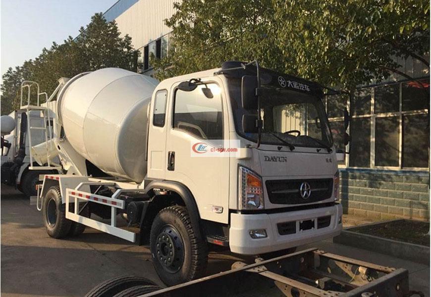 Dayun Yunlong 5 camion de mélangeur de partie