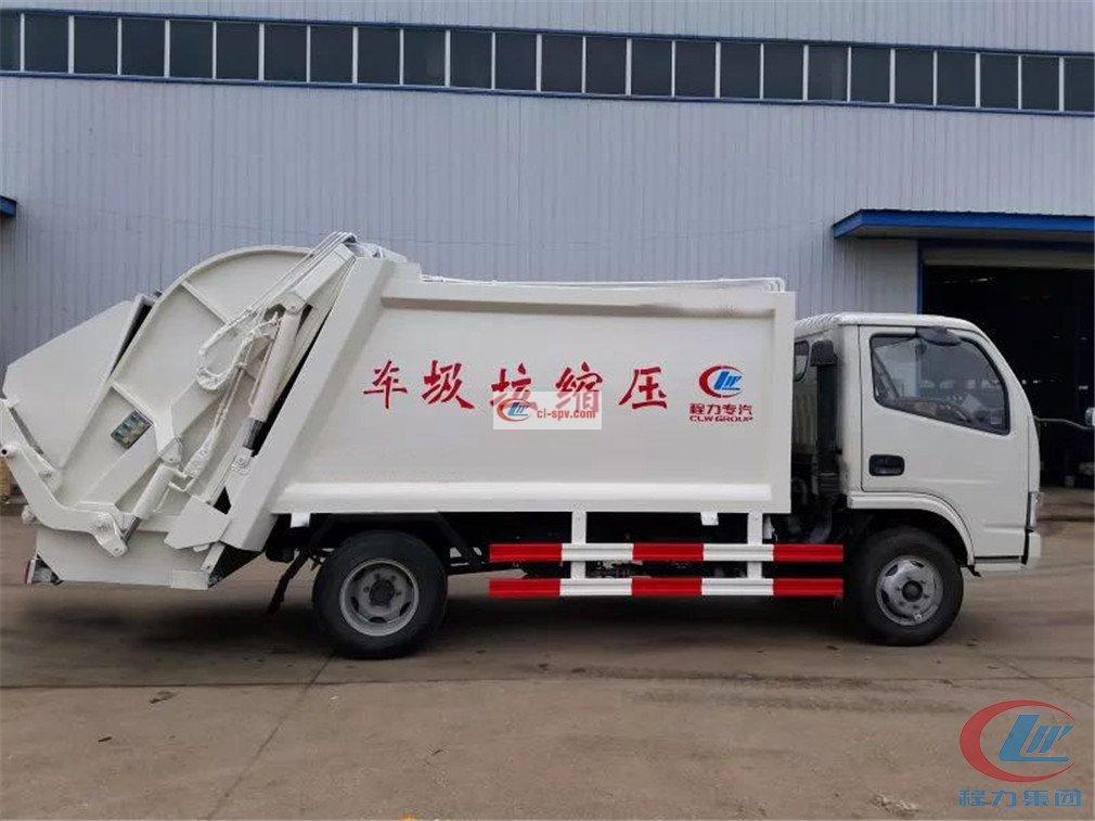 程力威东风多利卡 compressed garbage truck