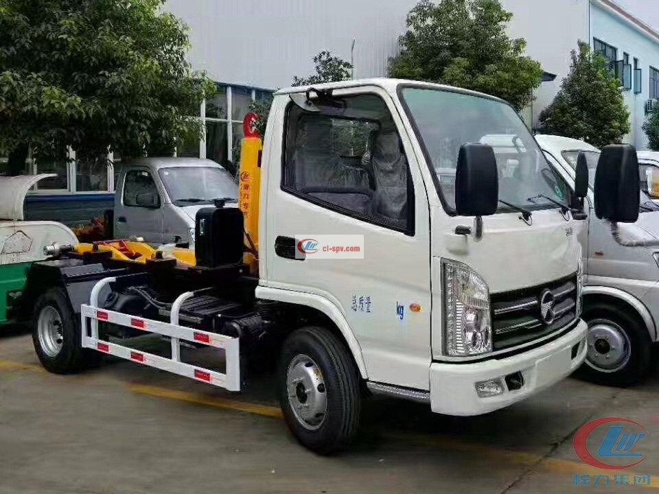 Hubei Chengli Kaima Carriage Removable Garbage Truck