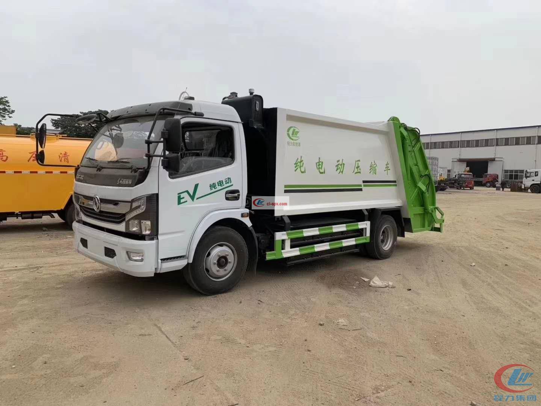8方compactor garbage truck