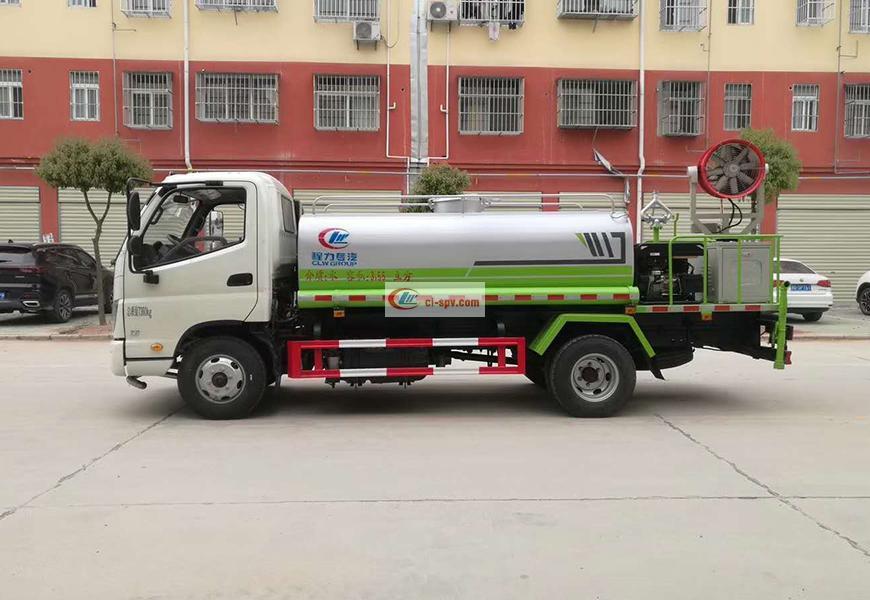 Futian Times 5  cbm Wasser-LKW