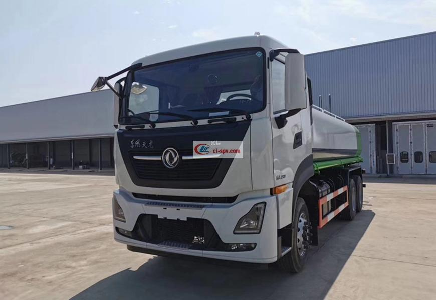 Dongfeng Tianlong 20 square water truck (National VI)