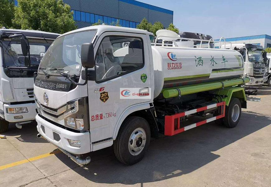 Dongfeng Duolika 5 cbm water truck