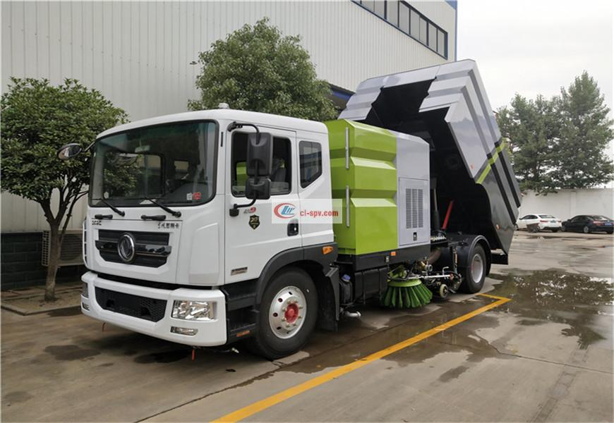 Dongfeng D9 sweeper country VI