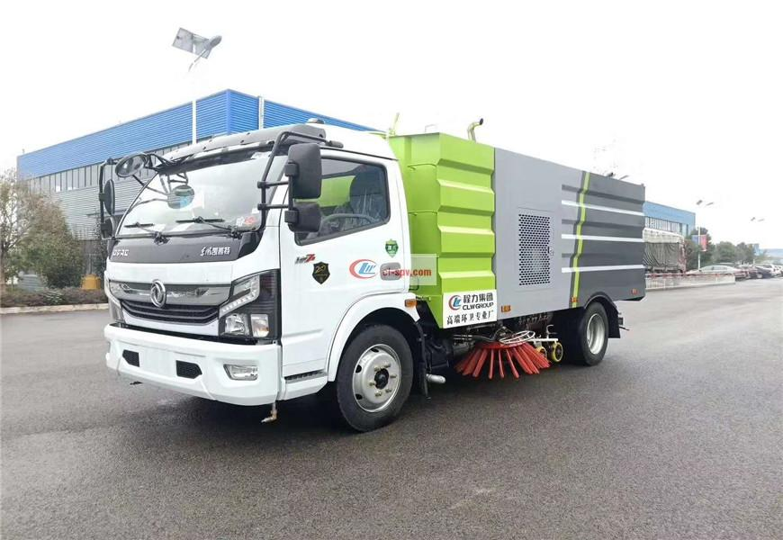 Dongfeng Duolika 9-party sweeper country VI