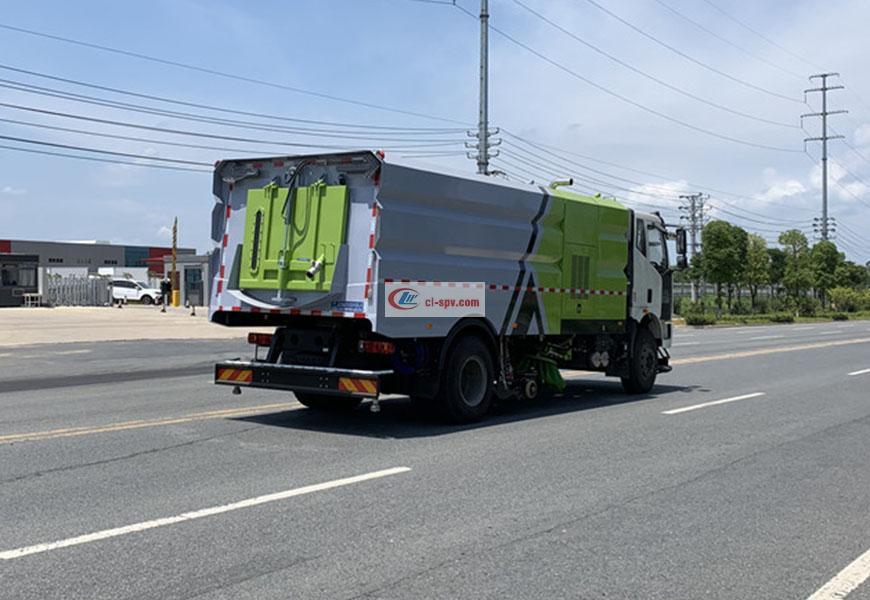 一汽解放J6洗扫车16方展示图