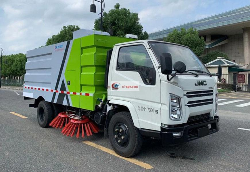 JMC Shunda Road Sweeper National Six