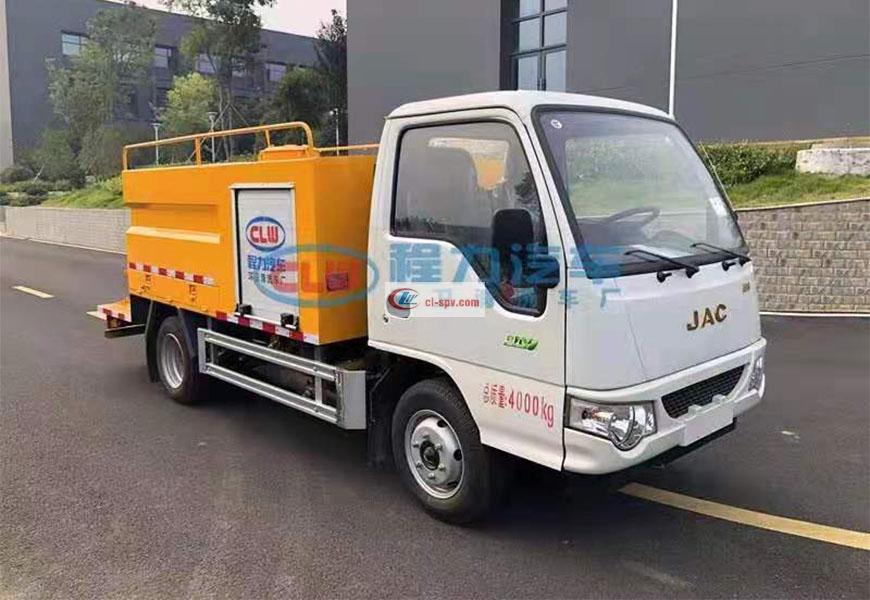 Camión de limpieza de alta presión Jianghuai Kangling National VI