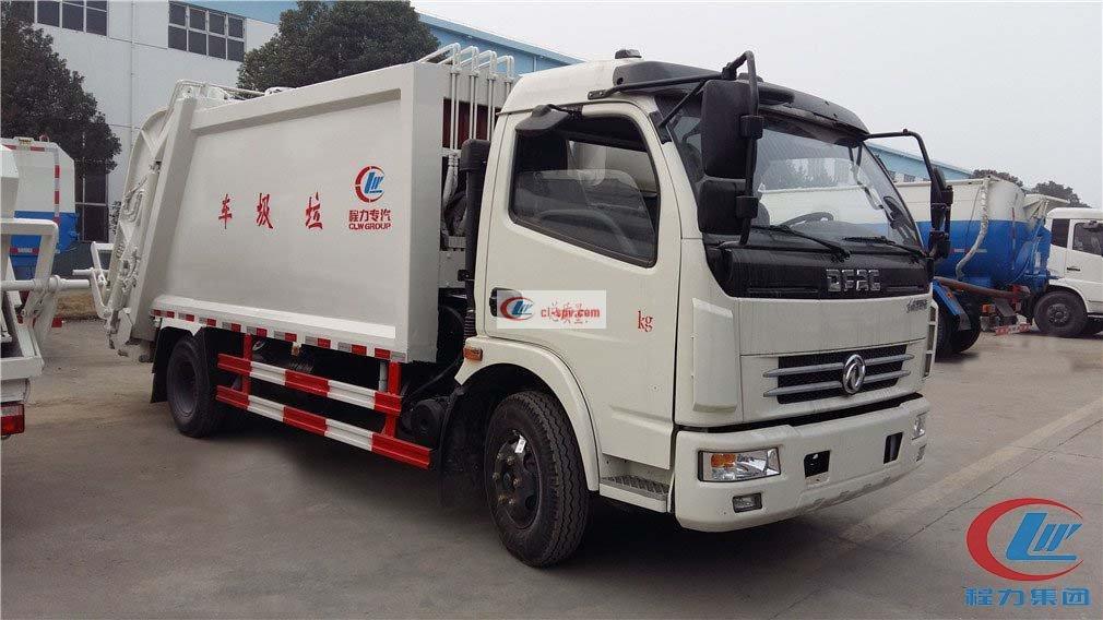 Caminhão de lixo de compressão Dongfeng Duolika D7