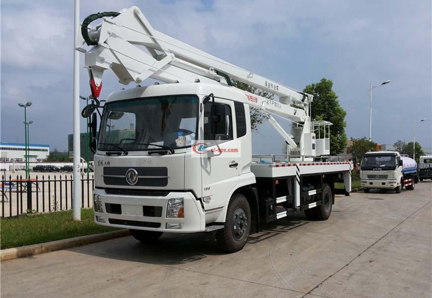 Dongfeng Tianjin 20m Aerial Operating Truck
