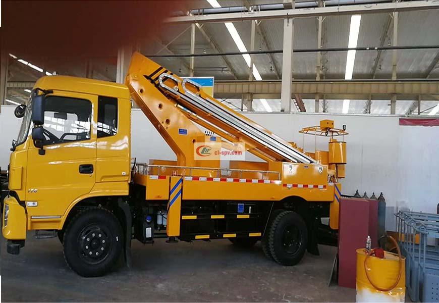 Dongfeng 28m aerial operating truck