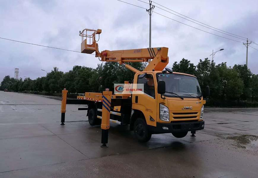 Jiangling 20m Aerial Operating Truck