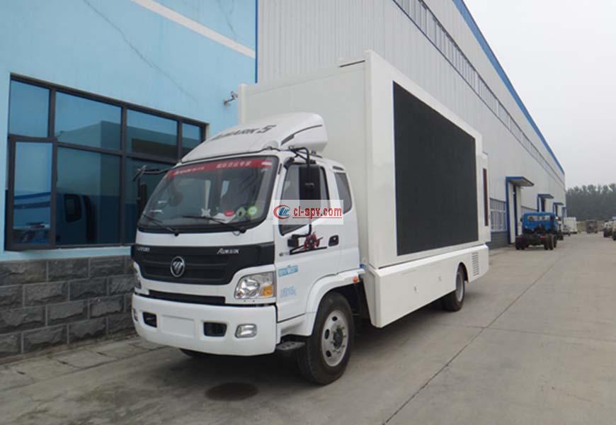 Foton Omark large led advertising vehicle
