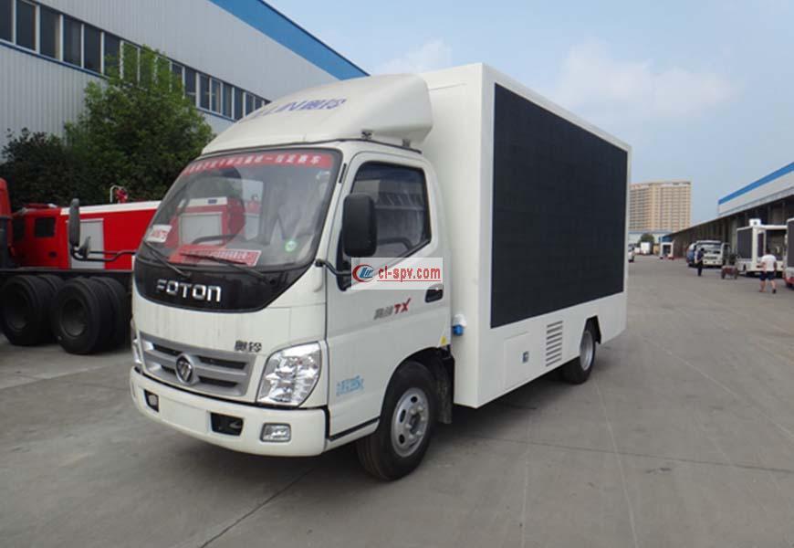 Foton Aoling led advertising vehicle