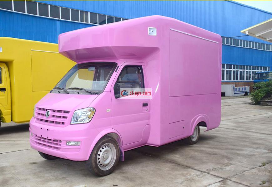 Dongfeng Junfeng State Five Mobile Vending Truck