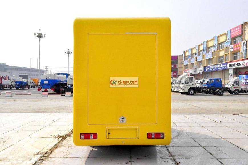 金杯国五卡通流动售货车