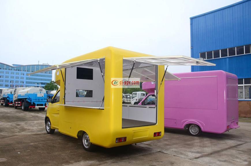长安国五流动售货车