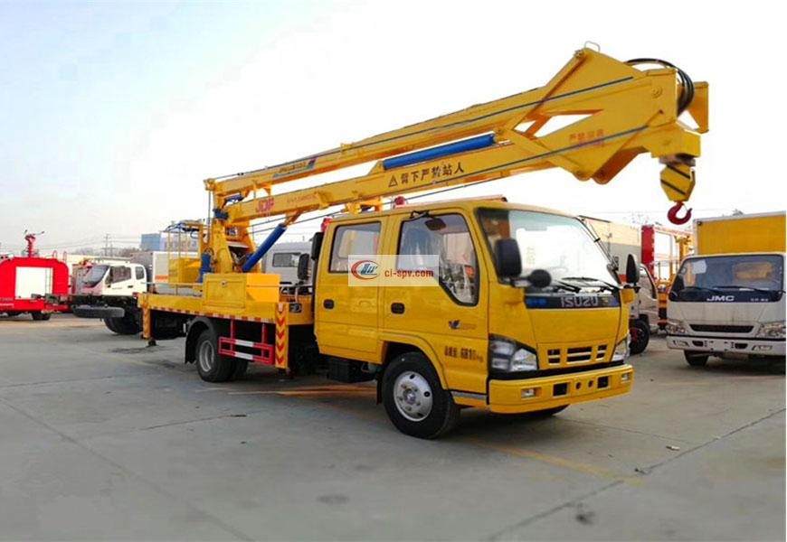 Qingling Isuzu 18m National Six Aerial Operating Truck