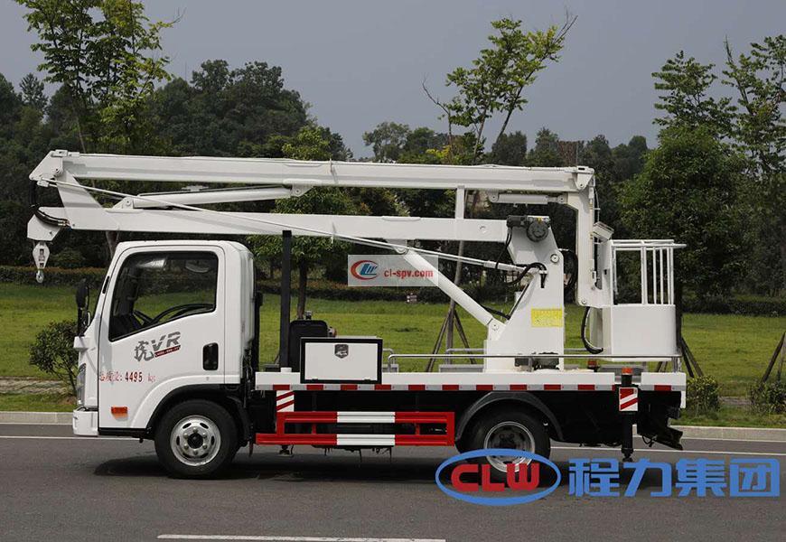 解放V虎13.5米高空作业车图片