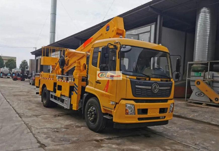 Dongfeng Tianjin 28m Aerial Operating Vehicle National VI