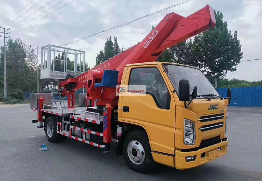 江铃国六23米高空作业车