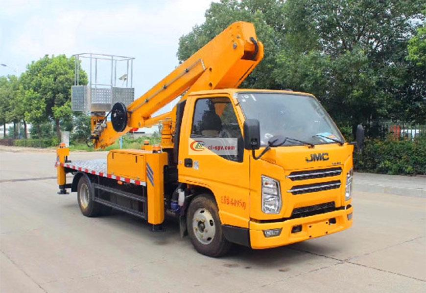 Jiangling 16m straight boom aerial operating vehicle National VI