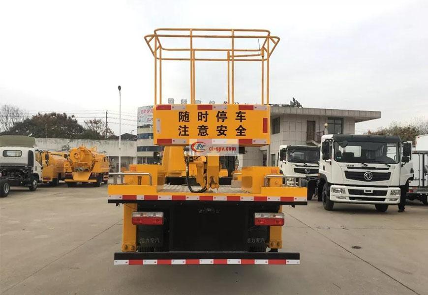 东风凯普特22米伸缩臂高空作业车