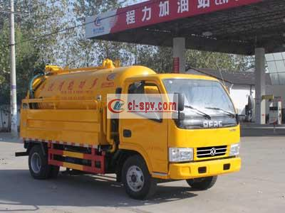 Dongfeng 2 cubic sewage suction truck