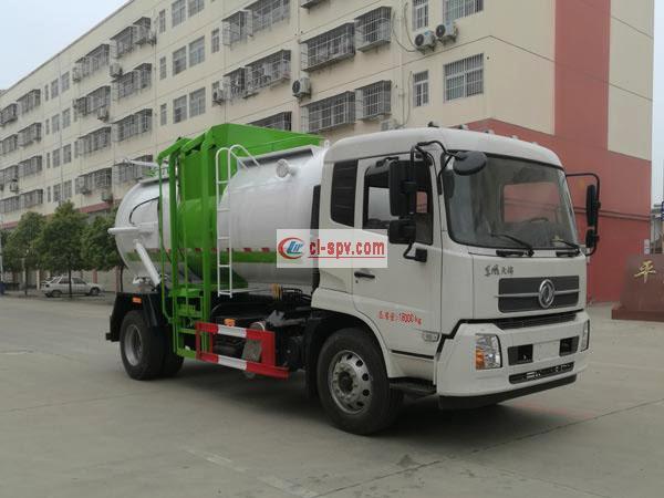东风天锦餐厨垃圾车 欧六排放