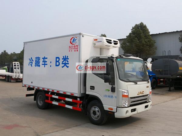 江淮帅铃4.08米冷藏车(宽体)