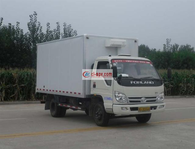 福田康瑞4.2米冷藏车