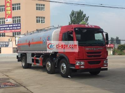 国五解放小三轴20立方加油车