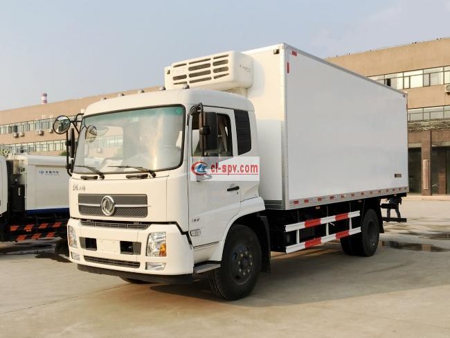 东风天锦6.1米/6.6米冷藏车(DFH5180XLCBX1DV)