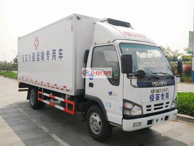 五十铃600P冷藏车(QL5071XLCA5KA)