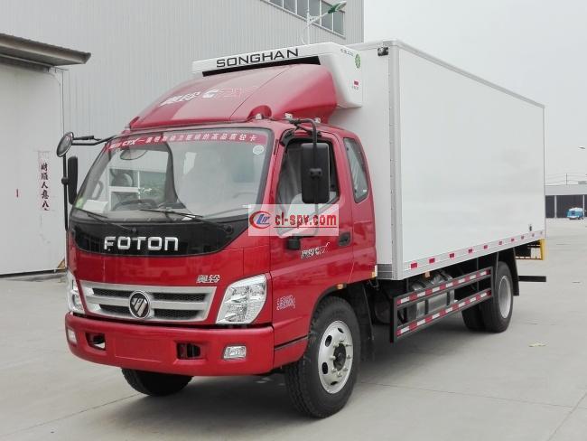 福田奥铃排半5.1米冷藏车(BJ5109XLC-F1)