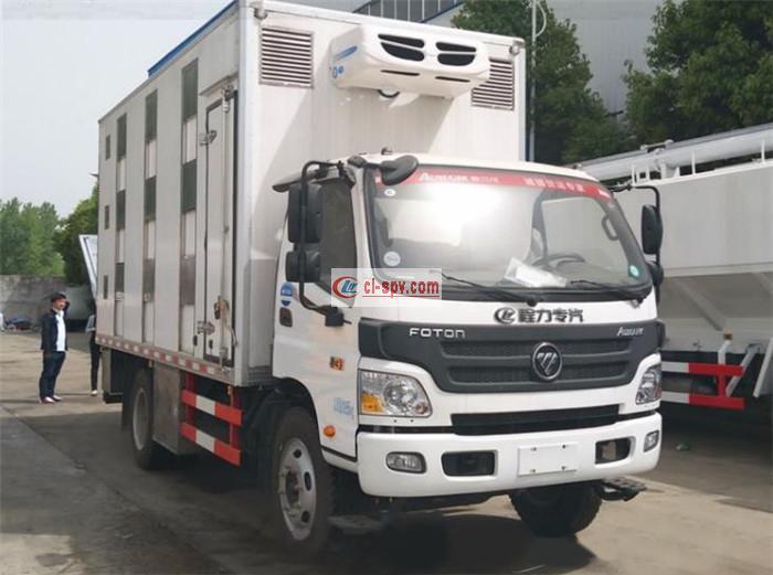 欧马可雏禽保温运输车BJ5049XLC-A5