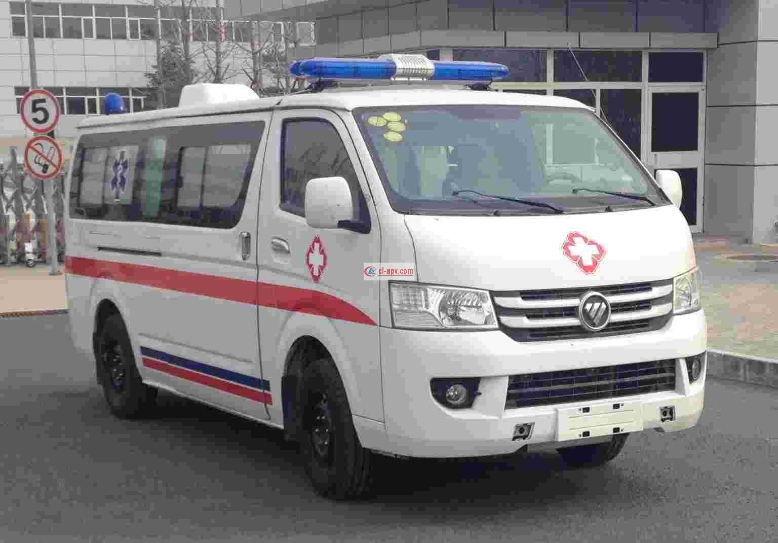 福田G7长轴救护车