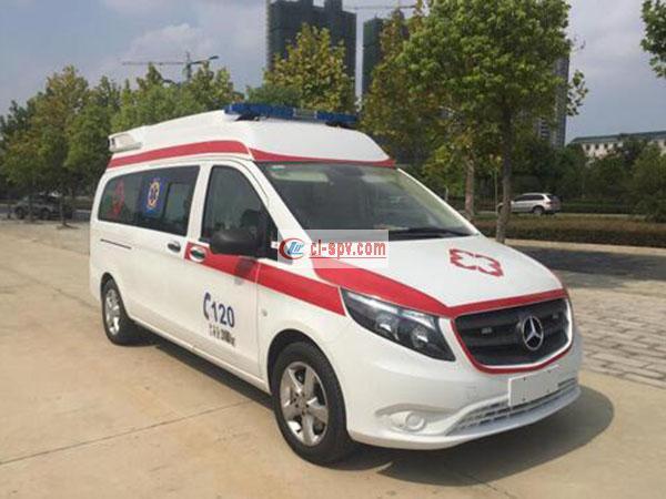 奔驰威霆欧六排放救护车