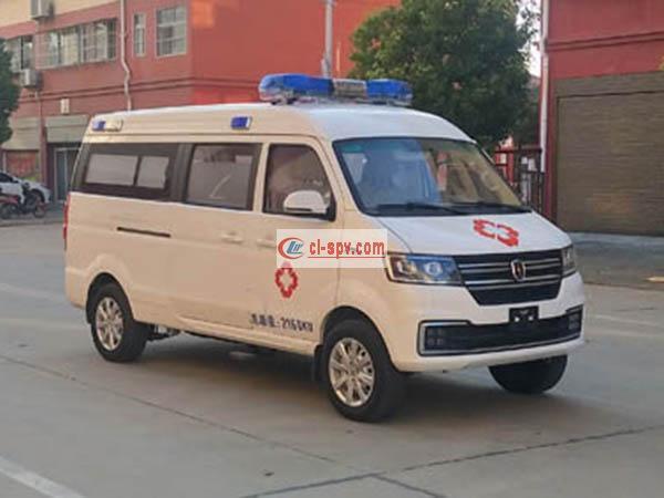 金杯新海狮S欧六排放救护车