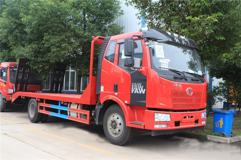 FAW J6 Single bridge 4X2 flatbed truck