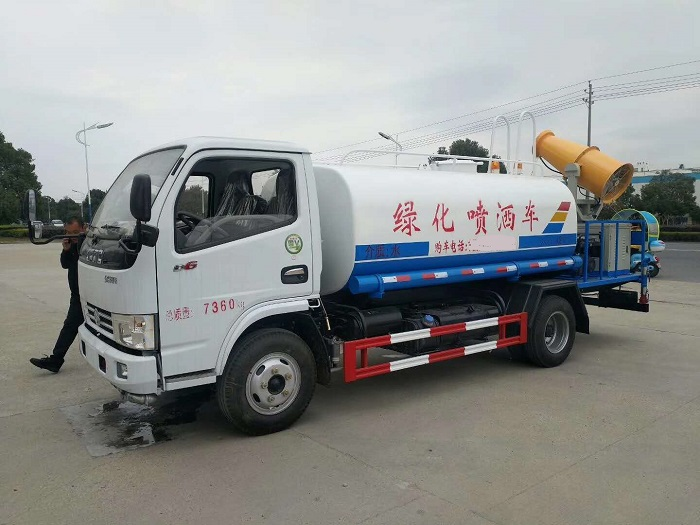 Dongfeng DLK spraying trucks with fog cannon system