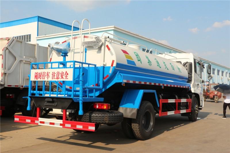 东风天锦12吨洒水车后右面图