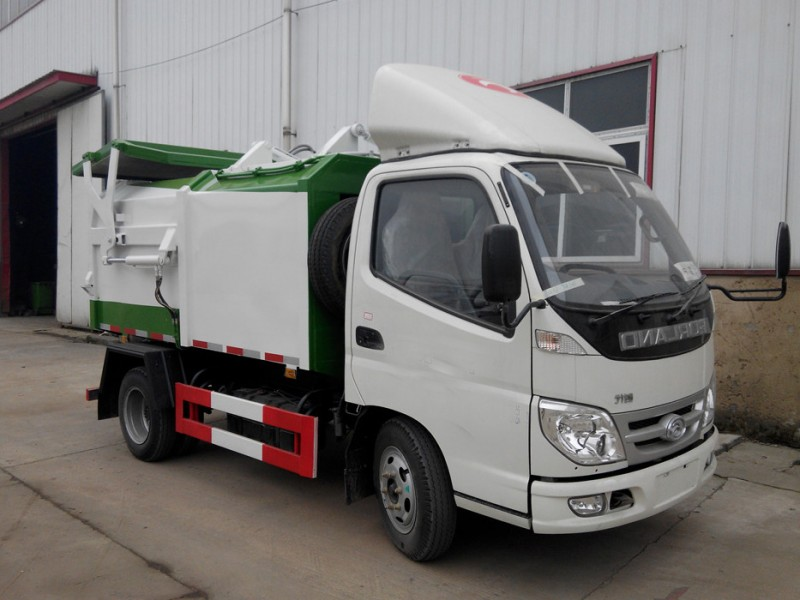 Foton Forland side-mounted compression type garbage truck