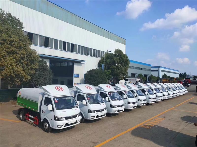 Dongfeng Euro six TuYi sealed garbage truck