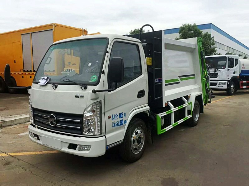 Kiama 3-4 cbm compression garbage truck