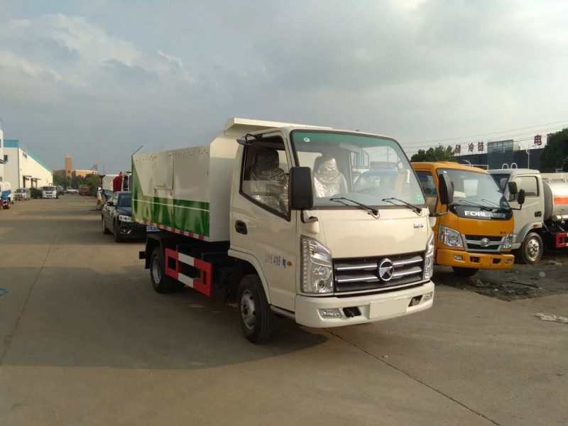 Kaima 4 cbm van garbage truck