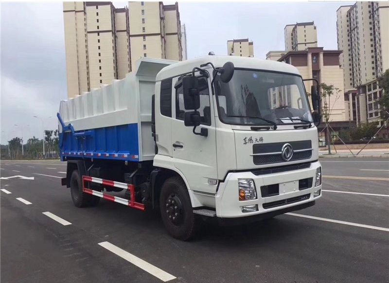 Dongfeng 14 cbm docking garbage truck