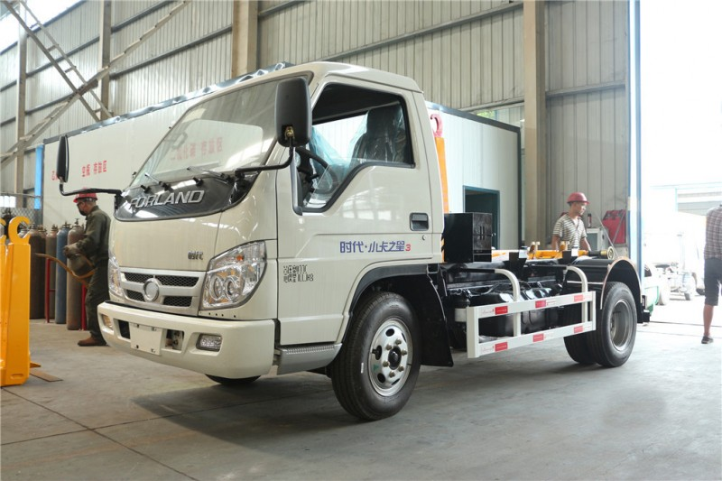 Foton Forland for 5-CBM hook arm garbage truck