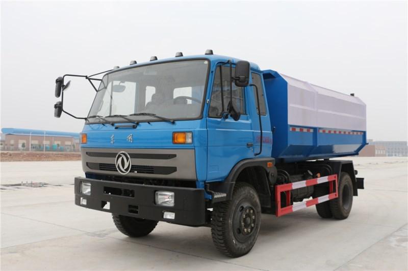 Dongfeng 145 12 cbm hanging bucket garbage truck