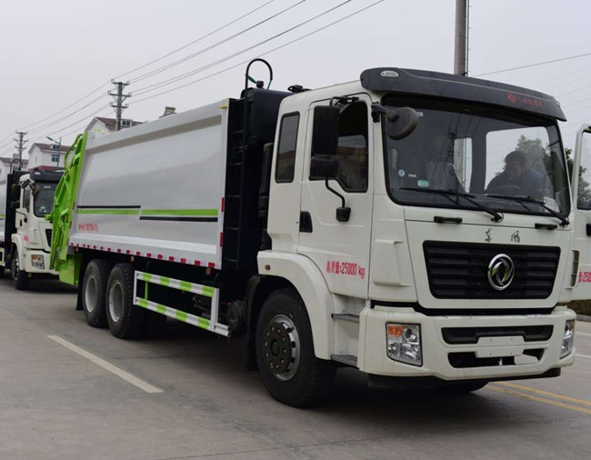 Dongfeng 6×4 T5 compression garbage truck